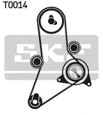 Ремкомплект ремня ГРМ SKF VKMA02381