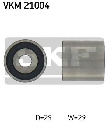 Ролик натяжителя ремня SKF VKM21004