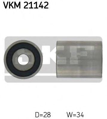 Ролик натяжителя ремня SKF VKM21142
