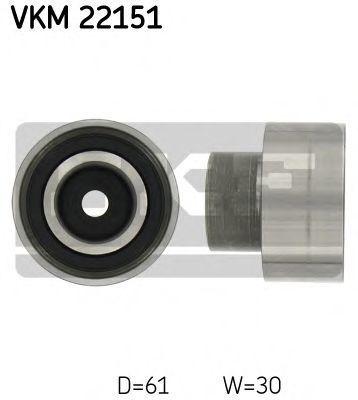Ролик натяжителя ремня SKF VKM22151