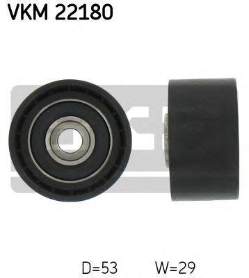Ролик натяжителя SKF VKM22180