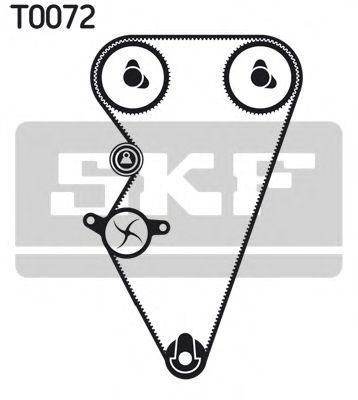 Ремкомплект ремня ГРМ SKF VKMA07301