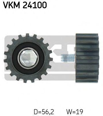 Ролик натяжителя ремня SKF VKM24100