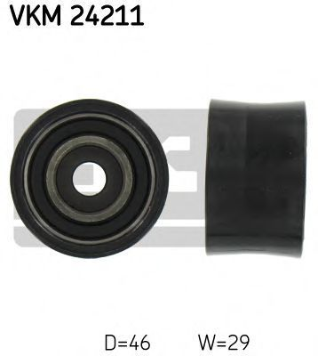 Ролик натяжителя ремня SKF VKM24211