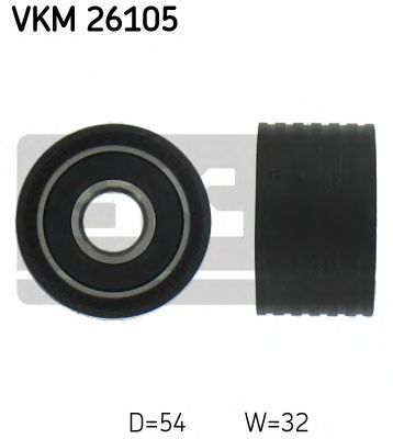 Ролик направляющий SKF VKM26105