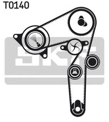 Ремкомплект ремня ГРМ SKF VKMA 02192