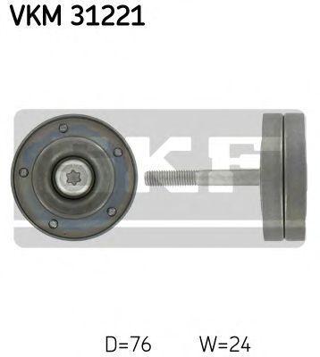 Ролик натяжителя SKF VKM 31221
