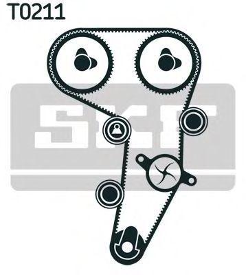Ремкомплект ремня ГРМ SKF VKMA01255