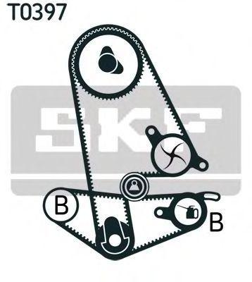 Ремкомплект ремня ГРМ SKF VKMA 93011