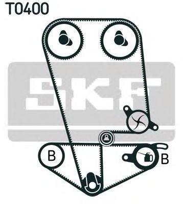 Ремкомплект ремня ГРМ SKF VKMA 93014