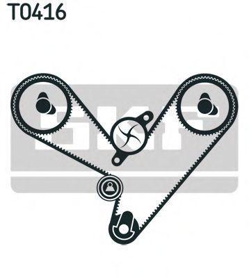 Ремкомплект ремня ГРМ SKF VKMA 95003
