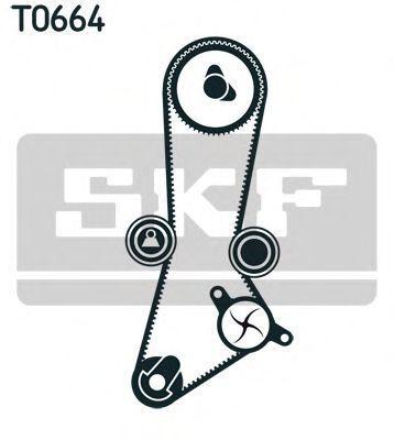 Ремкомплект ремня ГРМ SKF VKMA 95660