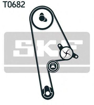 Ремкомплект ремня ГРМ SKF VKMA 93019