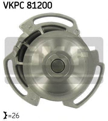 Насос водяной SKF VKPC 81200