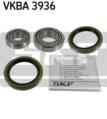 Подшипник ступицы комплект SKF VKBA3936
