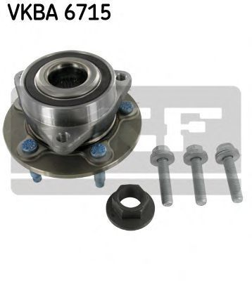 Подшипник ступицы комплект SKF VKBA6715