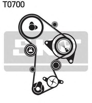 Ремкомплект ремня ГРМ SKF VKMA01263
