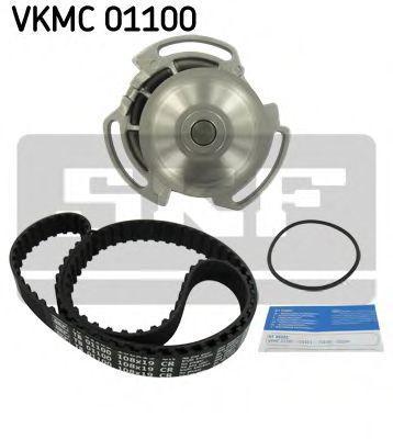 Ремкомплект ремня ГРМ + насос водяной SKF VKMC 01100