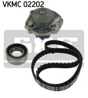 Насос водяной с ремнем и роликом SKF VKMC02202