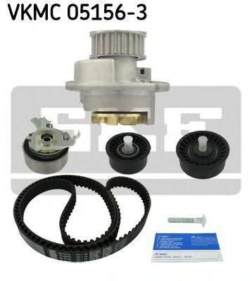 Насос водяной с ремнем и роликом SKF VKMC051563