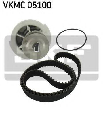 Водяной насос + комплект зубчатого ремня SKF VKMC05100