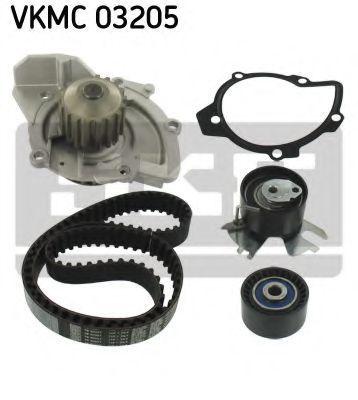 Насос водяной с ремнем и роликом SKF VKMC03205
