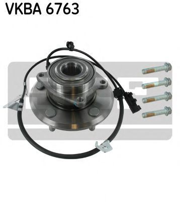 Подшипник ступицы комплект SKF VKBA 6763