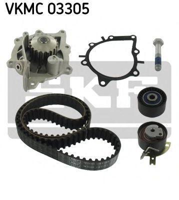 Насос водяной с ремнем и роликом SKF VKMC03305