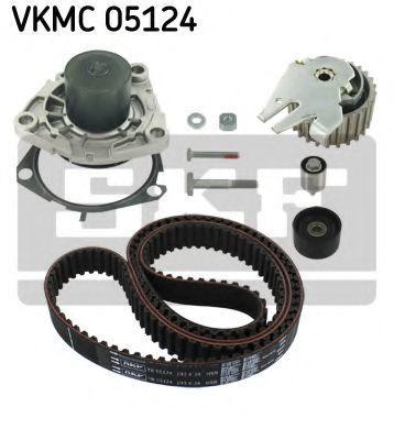Насос водяной с ремнем и роликом SKF VKMC05124