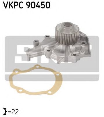 Насос водяной SKF VKPC90450
