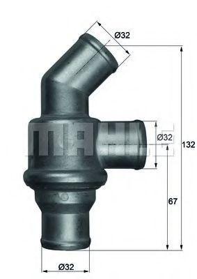 Термостат, охлаждающая жидкость BEHR THERMOT-TRONIK TH1680