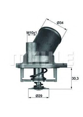 Термостат, охлаждающая жидкость BEHR THERMOT-TRONIK TI292