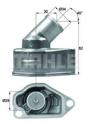 Термостат, охлаждающая жидкость BEHR THERMOT-TRONIK TI987