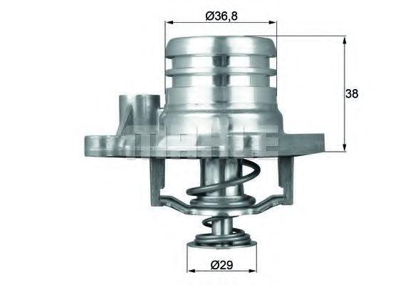 Термостат, охлаждающая жидкость BEHR THERMOT-TRONIK TI1392