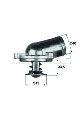 Термостат, охлаждающая жидкость BEHR THERMOT-TRONIK TI2271