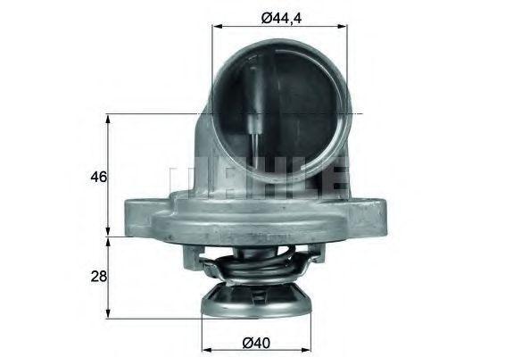 Термостат, охлаждающая жидкость BEHR THERMOT-TRONIK TI2380