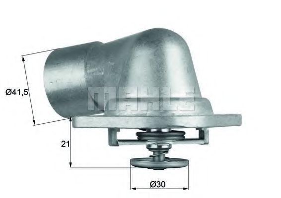 Термостат, охлаждающая жидкость BEHR THERMOT-TRONIK TI4692D