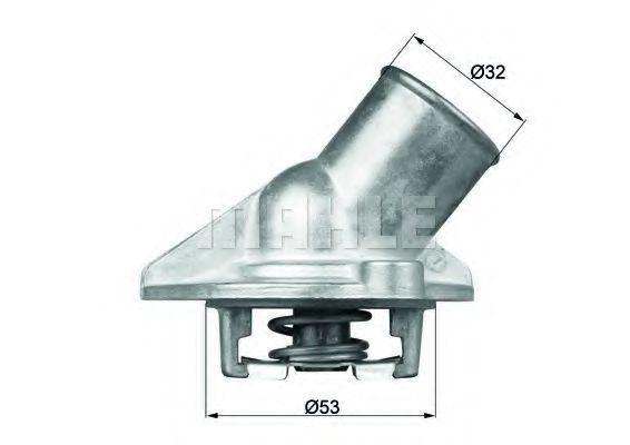 Термостат, охлаждающая жидкость BEHR THERMOT-TRONIK TI5687D