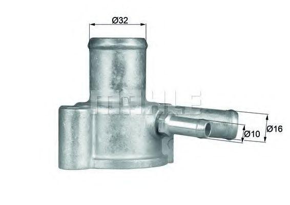 Термостат, охлаждающая жидкость BEHR THERMOT-TRONIK TI8487D