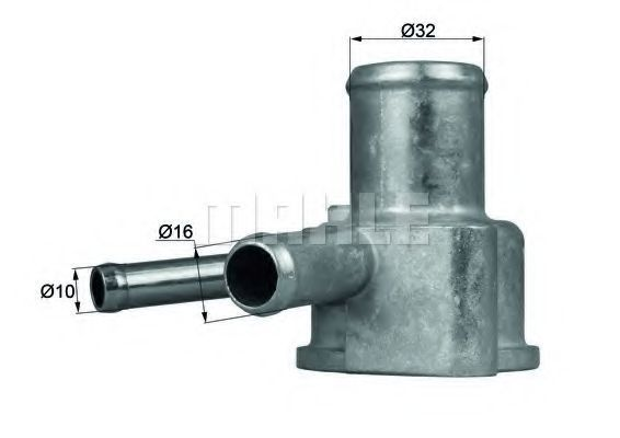 Термостат, охлаждающая жидкость BEHR THERMOT-TRONIK TI10387D