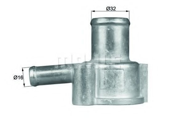 Термостат, охлаждающая жидкость BEHR THERMOT-TRONIK TI19487D