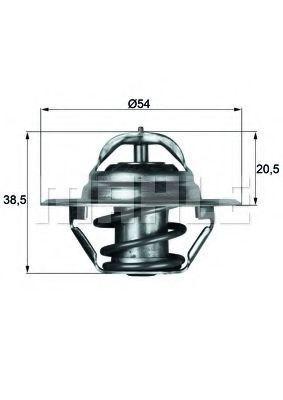 Термостат, охлаждающая жидкость BEHR THERMOT-TRONIK TX383D