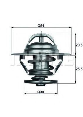 Термостат, охлаждающая жидкость BEHR THERMOT-TRONIK TX979