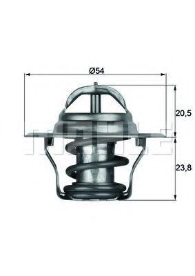 Термостат, охлаждающая жидкость BEHR THERMOT-TRONIK TX1487D