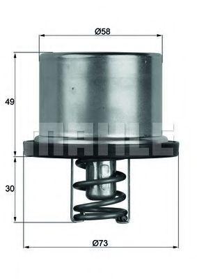 Термостат, охлаждающая жидкость BEHR THERMOT-TRONIK TX3779