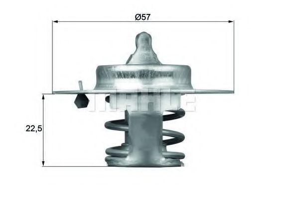 Термостат, охлаждающая жидкость BEHR THERMOT-TRONIK TX6083D