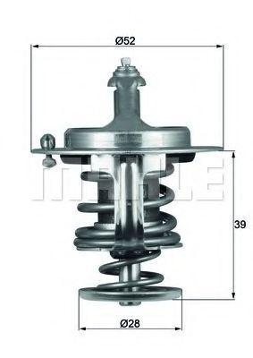 Термостат, охлаждающая жидкость BEHR THERMOT-TRONIK TX7182D