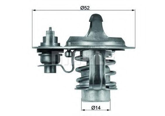 Термостат, охлаждающая жидкость BEHR THERMOT-TRONIK TX7688D