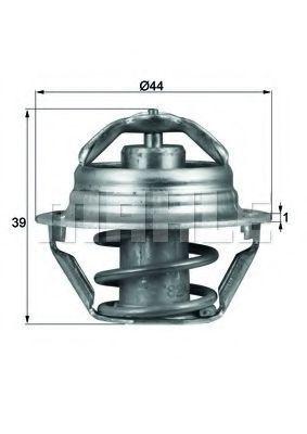 Термостат, охлаждающая жидкость BEHR THERMOT-TRONIK TX9087D