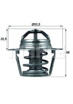 Термостат, охлаждающая жидкость BEHR THERMOT-TRONIK TX9189D
